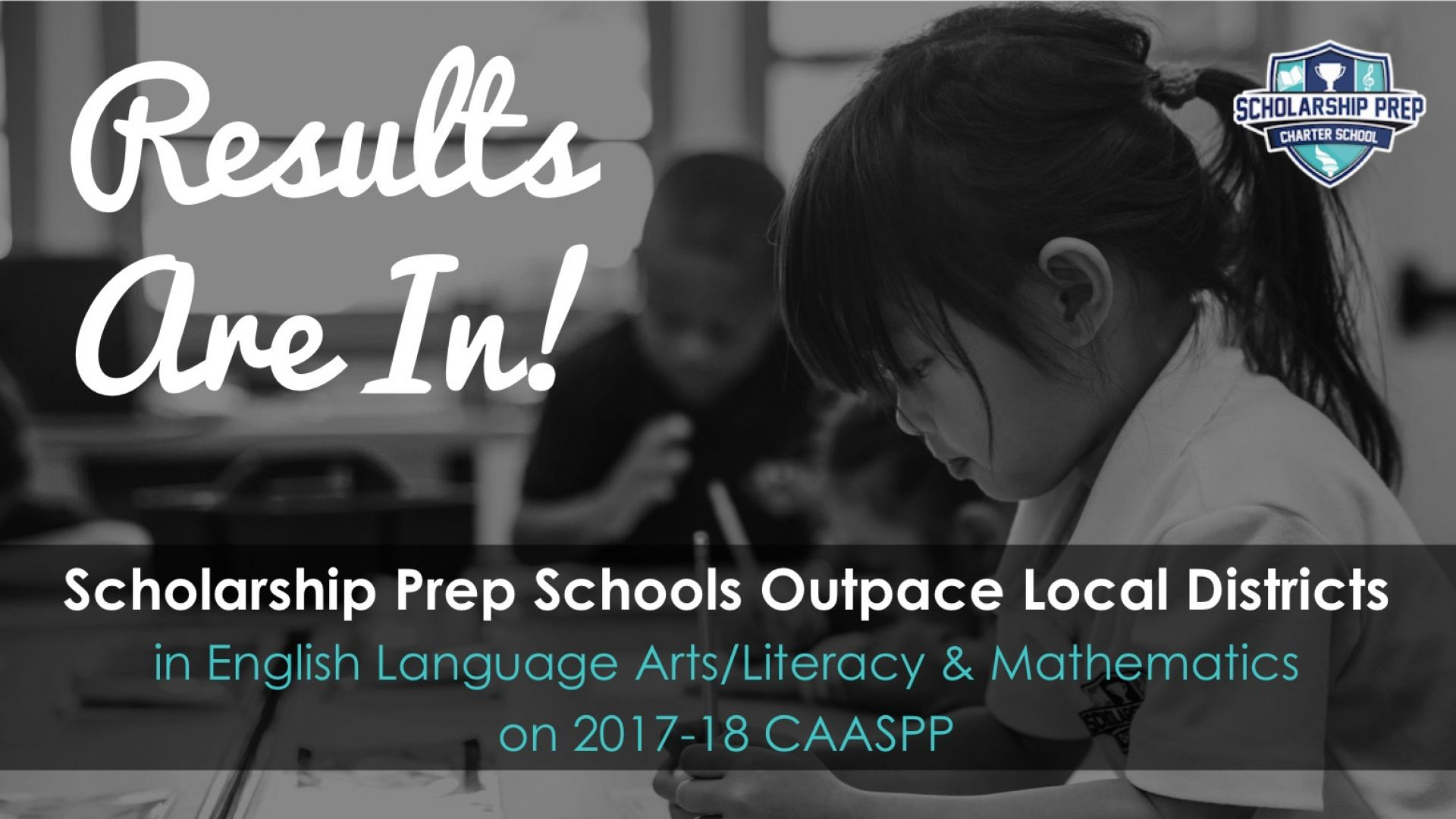 Scholarship Prep Outpaces Local School Districts in CAASPP Results!