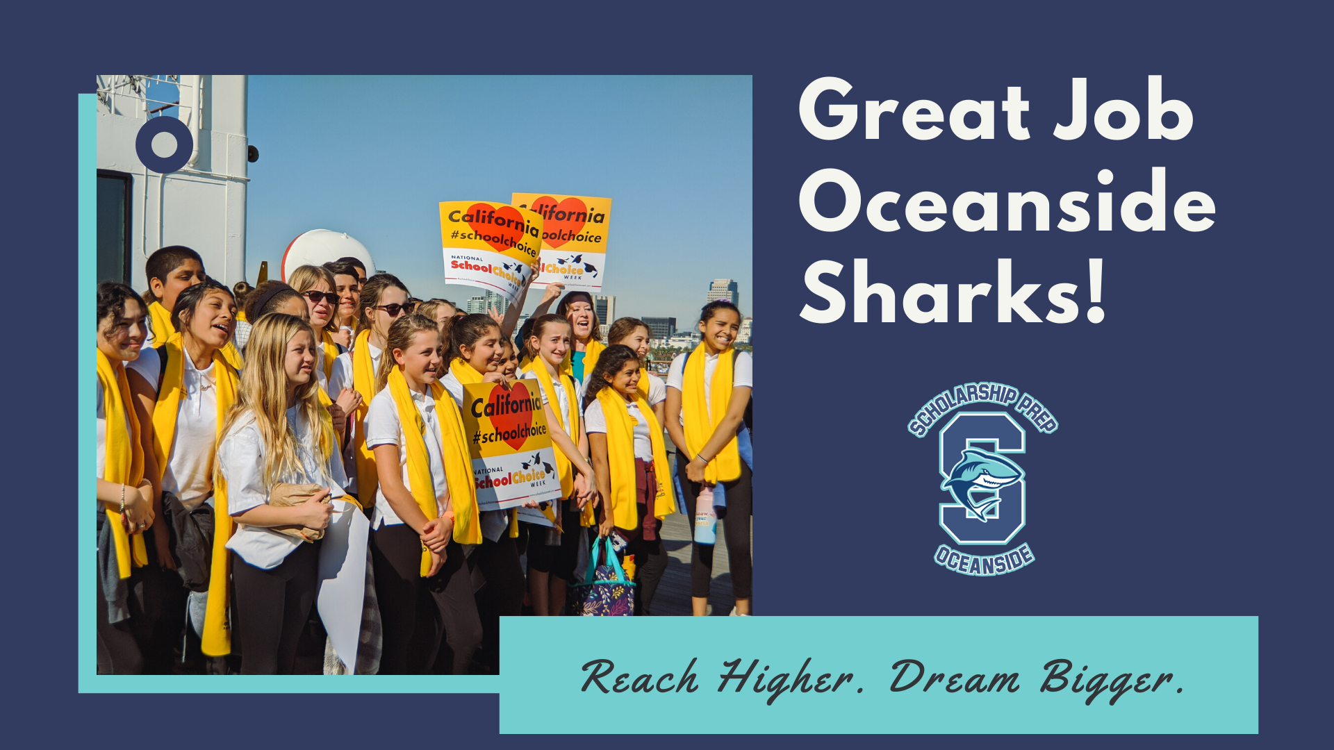 Video: Oceanside Sharks on the Queen Mary
